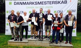 Vinderne af 2015 DM i OL-Trap for hold